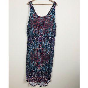 Tarte Sleeveless Knit Hi-Lo Dress Plus Size